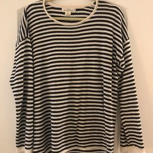 H&M - Navy and White Striped Sweater - Never Worn